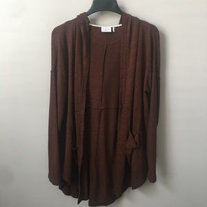 UO Out from Under Slouchy Open Front Cardigan